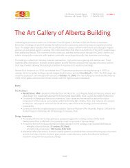 The Art Gallery of Alberta Building