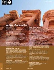 Voyage of Antiquities