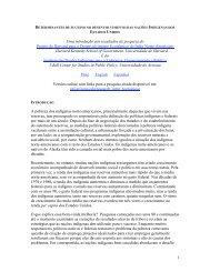 1 Uma introdução aos resultados de pesquisa do Projeto de ...