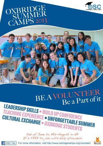 TA leaflet 2013