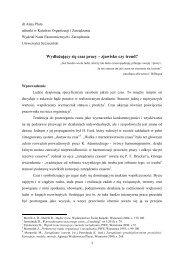 45 Pluta - ORGMASZ - Instytut Organizacji i Zarządzania w Przemyśle