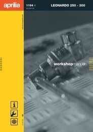 Leonardo 250-300 Repair Manual 2004 - Wheels Academy
