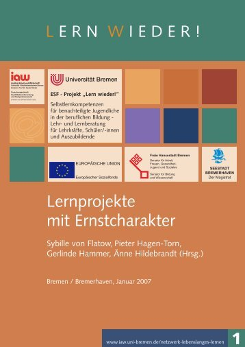 Lernprojekte mit Ernstcharakter 1 - am Institut Arbeit und Wirtschaft ...