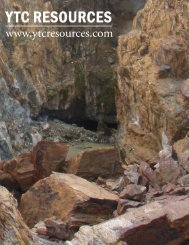 YTC RESOURCES - The International Resource Journal