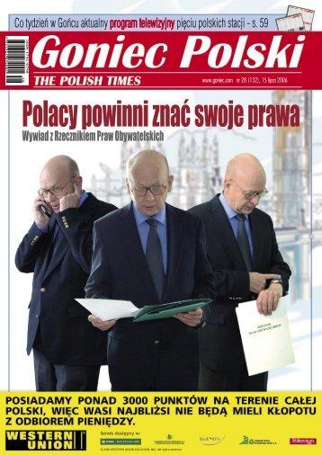 020 888 55 355 Telefon: 020 888 55 777 (Poproś o ... - Goniec Polski