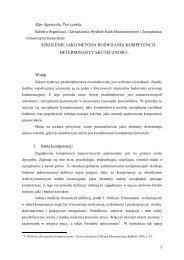 88 Pieczyńska - ORGMASZ - Instytut Organizacji i Zarządzania w ...