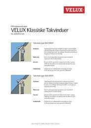 VELUX Klassiske Takvinduer - coBuilder