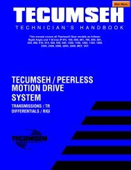 00_TECUMSEH PEERLESS Transmissions_Transaxles REPAIR ...