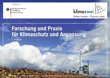 Forschung und Praxis für Klimaschutz und Anpassung - klimazwei