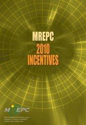 Incentives Guidelines English - Mrepc.com