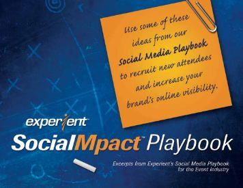SocialMpact Playbook (excerpts) - Experient