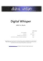 NET. - Digital Whisper