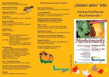 """""""Idstein aktiv"""" Info"""