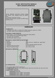 io-ext: input/output module with can bus interface - 3b6.it