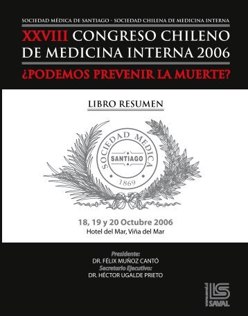 XXVIII CONGRESO CHILENO DE MEDICINA INTERNA - Sociedad ...