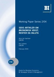 Working Paper Series 2/04