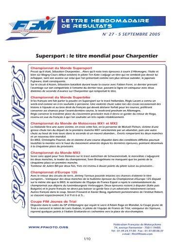 sport infos 27.qxd - Moto Station
