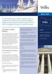 T0318-Willis Bulletin