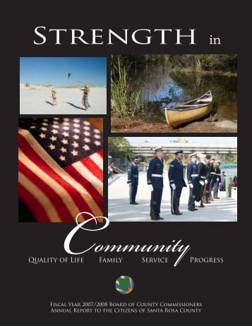 2007-2008 Annual Report - Santa Rosa County