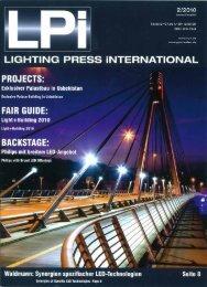 Page 1 LIGHTING PRESS ÍNTEHNATIONAL PROJ ECTS ...