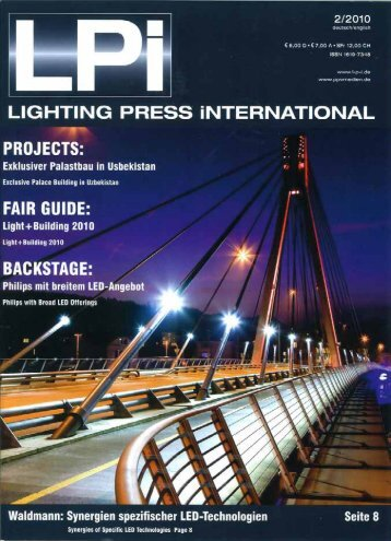 Page 1 LIGHTING PRESS ÍNTEHNATIONAL PROJ ECTS ...