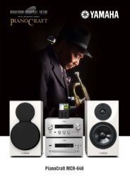 Pianocraft MCR-640 - Audio Klan