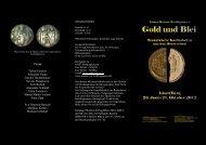 Gold und Blei