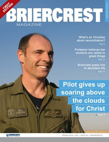 Seminary Magazine edit.indd - Briercrest College and Seminary