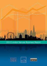 2012 London Venues Business Report - Bench Events