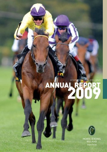 2009 Annual Report - Horse Racing Ireland