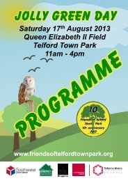 Here - Friends of Telford Town Park