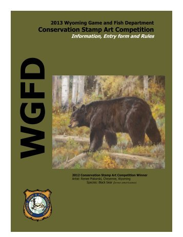 Conservation Stamp Art Competition - Wyoming Game & Fish ...