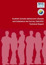 Technical Report - Drug Misuse Information Scotland