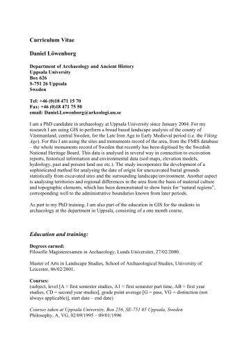 curriculum vitae daniel krashin  md education 08  87 to 06