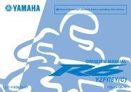 R6 - YZFR6Y(C) Owner's Manual