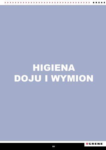 HIGIENA DOJU I wymION - Grene