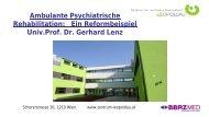 Vortrag Prof. Dr. Gerhard Lenz - Vinzenz Gruppe