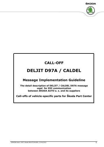 DELJIT D97A / CALDEL - Åkoda Auto