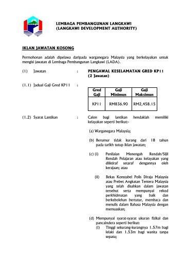 Muat Turun Iklan K11 - Lembaga Pembangunan Langkawi