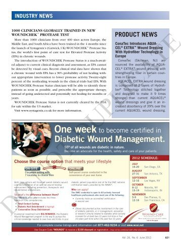 Diabetic Wound Management. - Wounds
