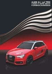 Exklusiv Flyer Audi A1 1.2 TSI Redline.psd - SKN Tuning Blog