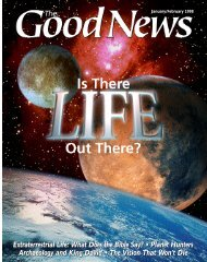 Extraterrestrial Life - United Church of God