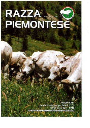 Page 1 Page 2 NUMERO 2 RAZZA W PIEMONTES Razza ...