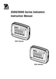 Defender 3000 series indicator
