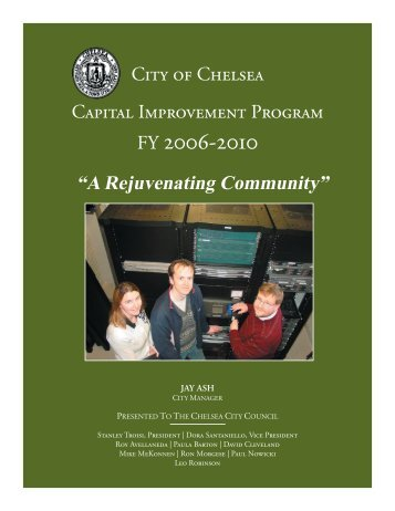 Capital Improvement Program 2006 - Chelsea City Hall