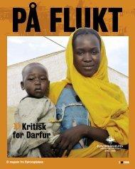 Kritisk for Darfur