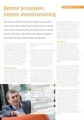 betere processen, betere dienstverlening - Pasklaar Communicatie - Page 4