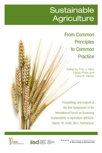 From Common Principles to Common Practice - International ...