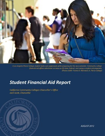 Student Financial Aid Report - California Community Colleges ...