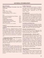 GENERAL INFORMATION - Experimental Biology